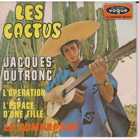 jacques dutronc cactus les cactus de jacques dutronc ep chez prenaud ref 117989326