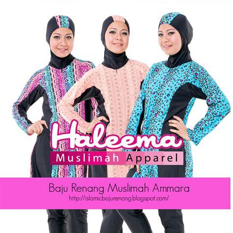 Baju Renang Tertutup baju renang untuk muslimah yang aktif