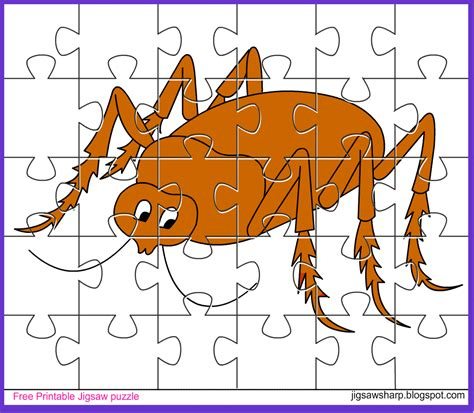 printable photo jigsaw puzzles free printable jigsaw puzzle game beetle jigsaw puzzle