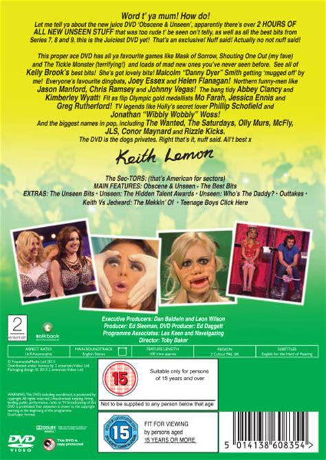 celebrity juice unseen celebrity juice obscene and unseen seizoen 3 dvd zavvi nl