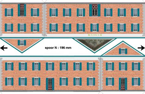 building templates o scale cardstock buildings free studio design