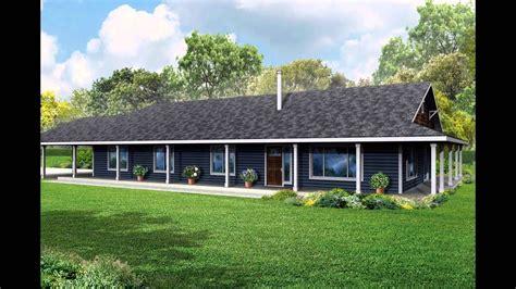 house plans  wrap  porch youtube