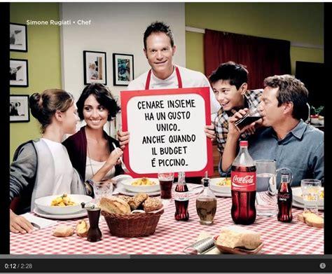ceniamo insieme lo spot della coca cola il nuovo spot invita a quot mangiare insieme quot