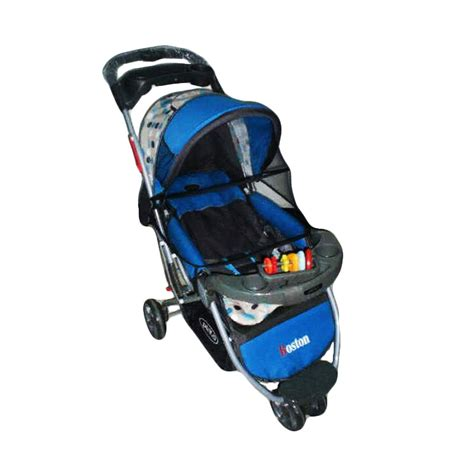 Kereta Dorong Bayi Kembar Pliko jual pliko stroller 338 boston sky blue kereta dorong bayi harga kualitas terjamin