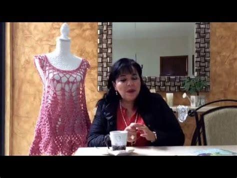 primera parte chambrita tejida tejiendo con laura related video