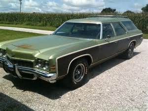 sell used 1972 chevrolet kingswood station wagon in