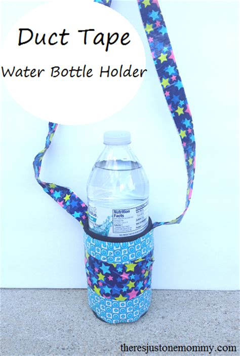 diy water bottle stand 40 easy diy duct crafts