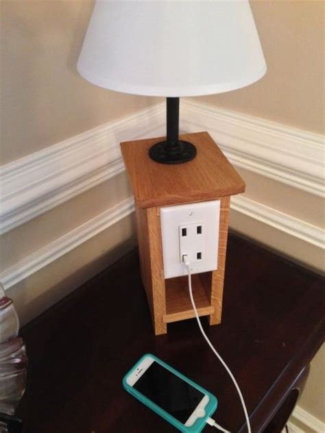 diy usb charging station iphone charging l fun diy ideas pinterest ls