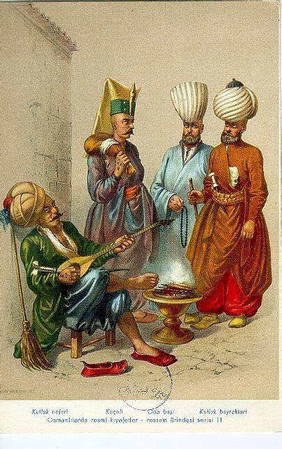 Officier Ottoman by Janissaries Ottoman Des Hommes