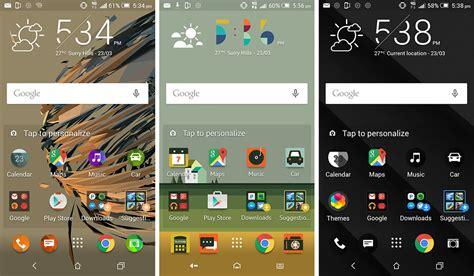 htc text themes htc one m9 2015 review screenshot theme applying gadget