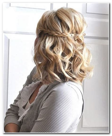 Hairstyles For Homecoming by Homecoming Hairstyles For Shoulder Length Hair New