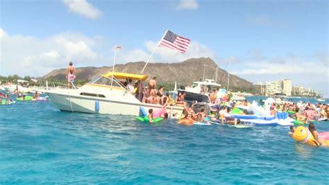 boat registration oahu waikiki floatopia hawaii news and island information