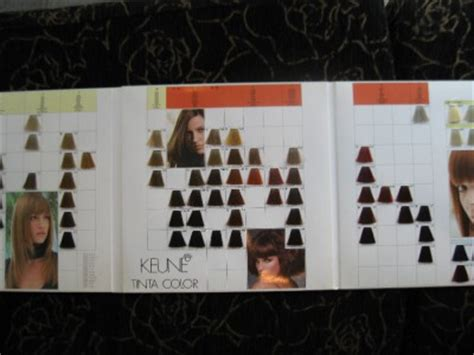 keune color chart keune tinta color professional hair color chart new ebay