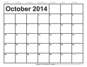 4 month calendar template 2014 october 2014 calendar template