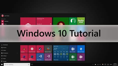 windows 10 c tutorial windows 10 tutorial beginners guide youtube