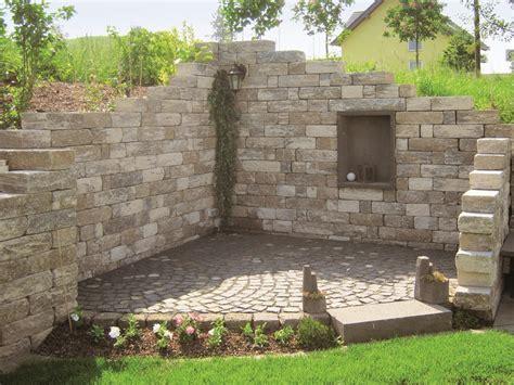 mauersysteme garten steine fur gartenmauer steine fur gartenmauer garten ideen