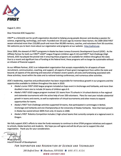 Support Letter For Youth Program that stem thing creating an after school stem learning community for middle schoolers