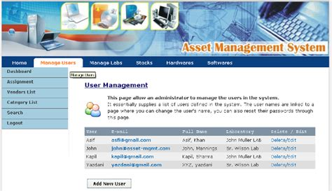open source it asset management software information