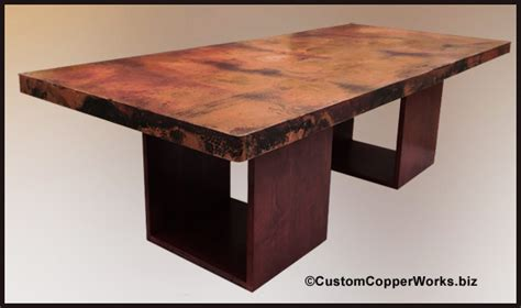 copper top tables copper table tops copper top dining tables copper bath