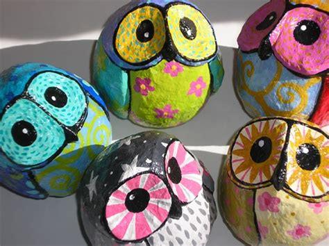 How To Make A Paper Mache Owl - owls in pijamas paper mache 8cm craft ideas