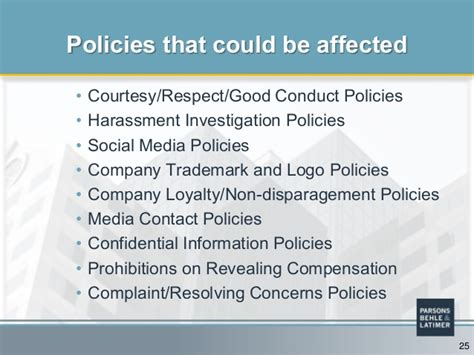 Nlra Section 7 Social Media by Do Your Company S Policies Need A Social Media Overhaul