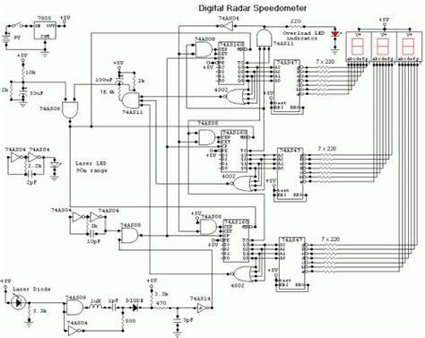 Abb Inverter Uno Manual by Digital Radar Speedometer Circuit Diagrams Schematics