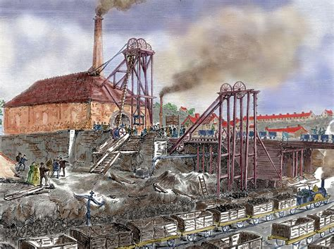 Industrial Revolution The coal in the industrial revolution
