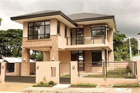 house design sles philippines real estate davao two 2 storey house naomi model for sale