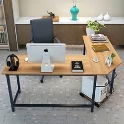 Computer Desk Qatar Tribesigns Modern L Shaped Desk Corner Computer Desk Pc