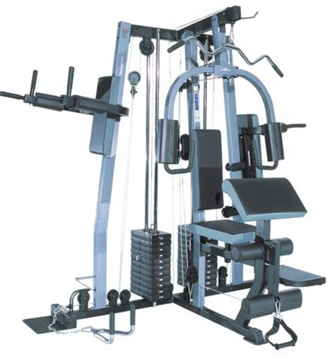 pin weider pro 5500 multi home with 85kg weights