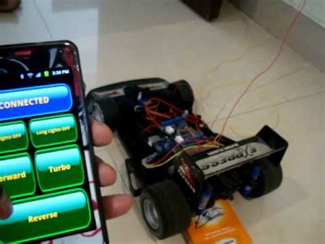 arduino tutorial rc car android bluetooth controlled rc car using arduino youtube