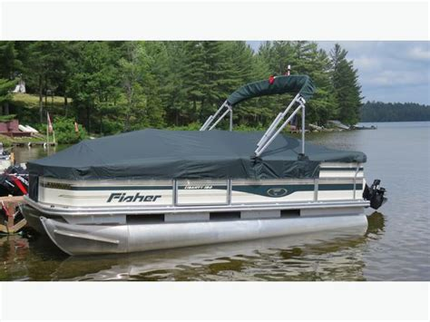 used pontoon boats for sale parry sound 2008 pontoon boat sault ste marie sault ste marie