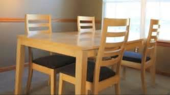 Maple Dining Table And Chairs Maple Dining Room Table And Chairs For Dale