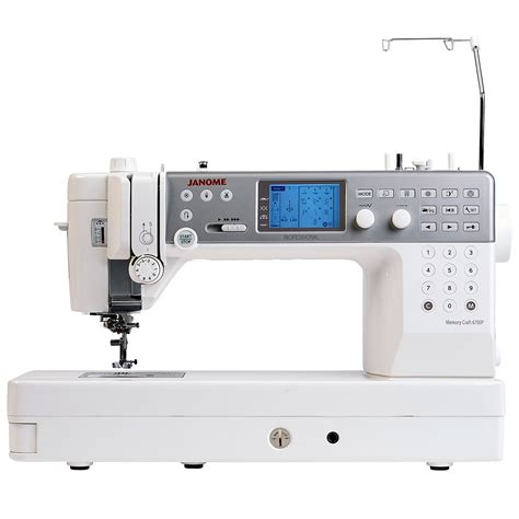 Janome Memory Craft janome memory craft 6700p sewing machine sew essential