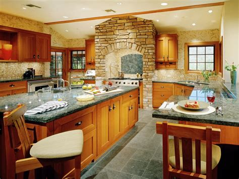 Kitchen Oven Cabinets by Kitchen Layout Templates 6 Different Designs Hgtv
