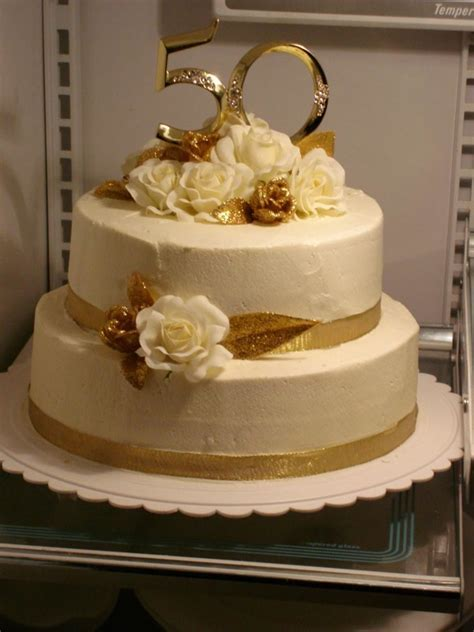 50Th Anniversary Cake   CakeCentral.com
