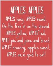 Apples apples poem jpg