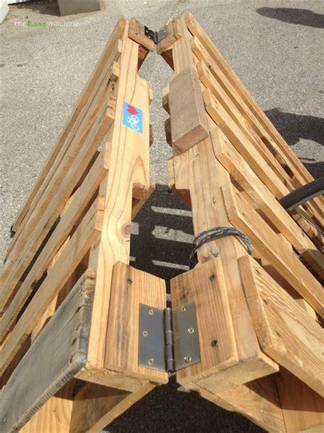 5 simple diy pallet bicycle rack pallets designs