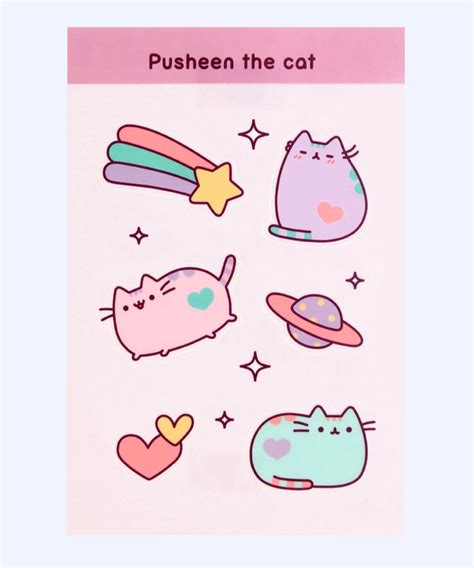 printable cat stickers 25 best ideas about pusheen stickers on pinterest