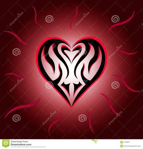 tattooed heart karaoke free download heart royalty free stock photography image 7129907
