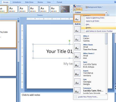 powerpoint design tab custom slideshow powerpoint 2010 nozna net