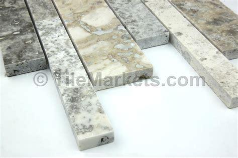 travertine mosaic silver 8 5x18 tilemarkets 174