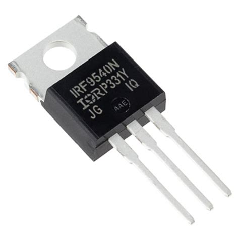 irf9540n p channel mosfet (23 amp) at addicore