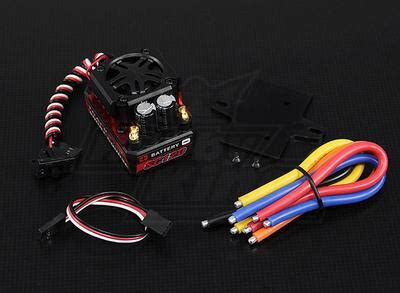 hobbyking boat esc programming card turnigy trackstar 120a brushless short course truck esc