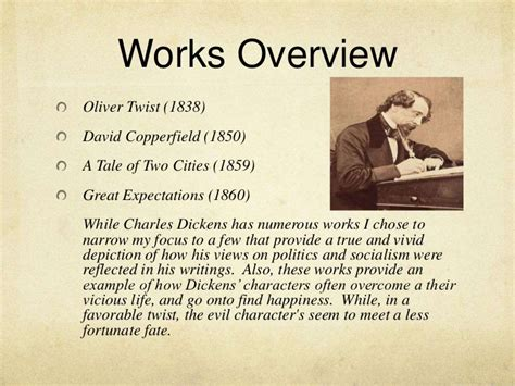 Charles Dickens Biography Works | charles dickens