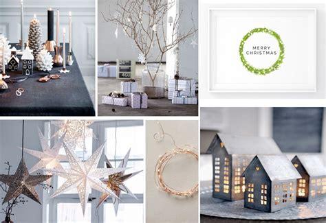 idee per la casa moderna come creare un natale minimalista