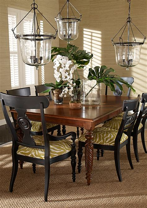 tropical dining room sets dining rooms tropical dining room other by ethan allen