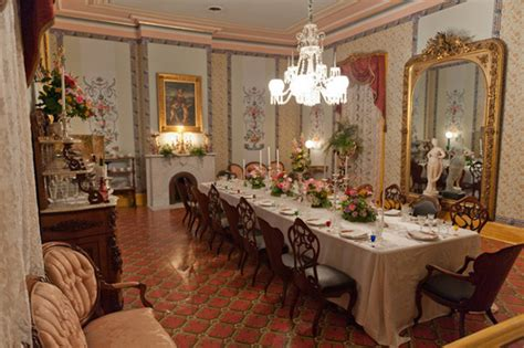 Mansion Dining Room by Visit To The Belmont Mansion Nashville Peachridge Glass