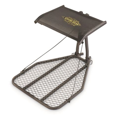 hang on treestand replacement seat guide gear ultra comfort hang on tree stand 663261 hang