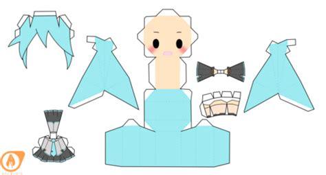 a doll s house printable version miku hatsune china chibi doll free printable papercraft